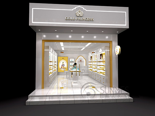 GOLD PRINCESS 皇家店面SI设计