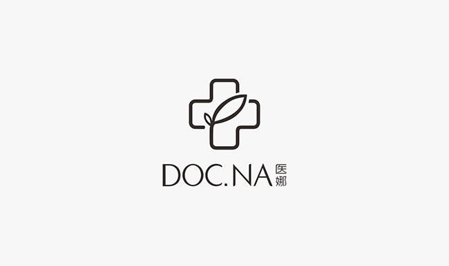 医娜doc.na 商标设计logo设计