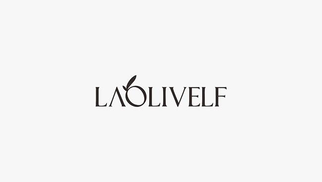 laolivelf 橄榄精灵化妆品品牌商标设计
