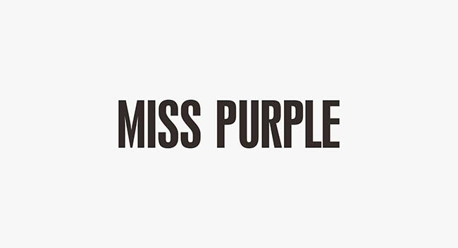 miss purple 天然护肤品品牌商设计