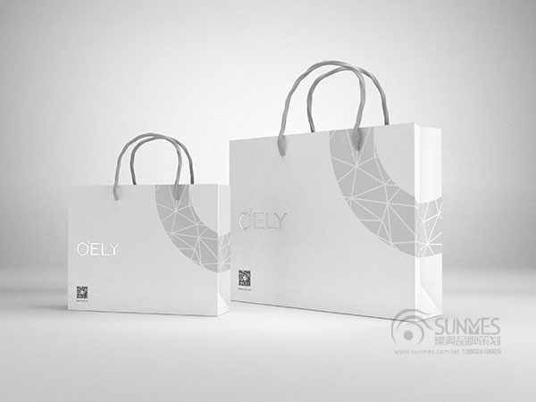 o'ely 品牌纸袋设计