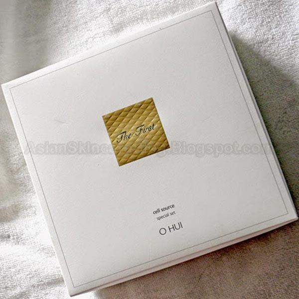 O HUI高端护肤品套装包装设计