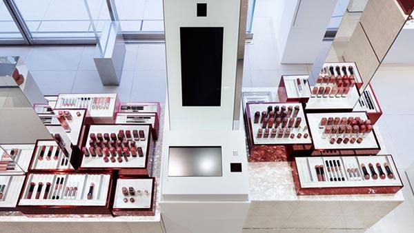 资生堂化妆品展厅设计图08