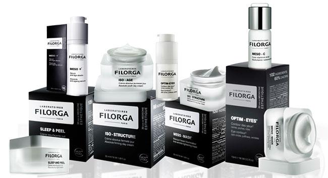 法国Filorg菲洛嘉专业护肤包装设计集合图