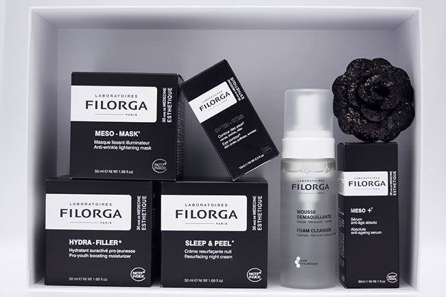 法国Filorga菲洛嘉专业护肤护水内外包装设计图