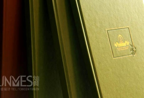 中草疗法画册包装策划设计