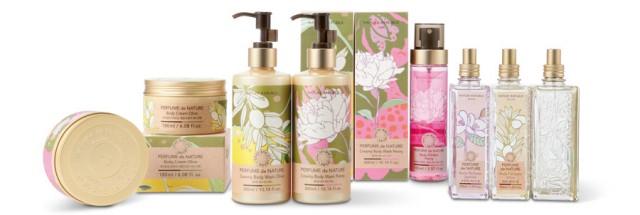 Perfume de Nature 美味的化妆品包装