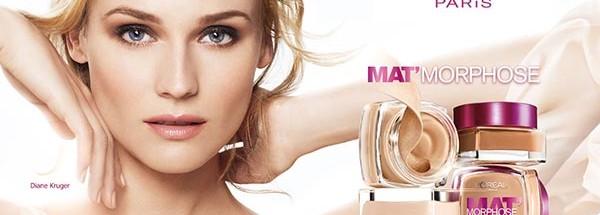 欧莱雅品牌广告创意图