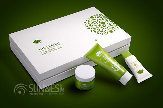 柏束天然有机化妆品套盒设计案例