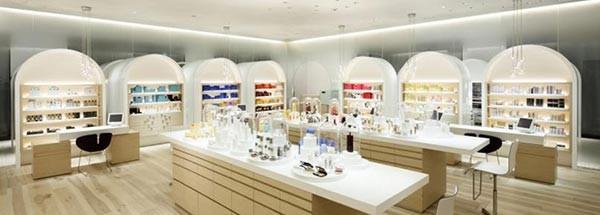 资生堂化妆品展厅设计图