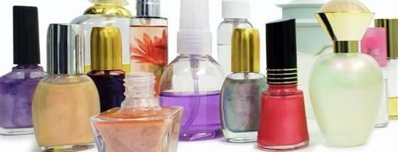 化妆品各种类型瓶子