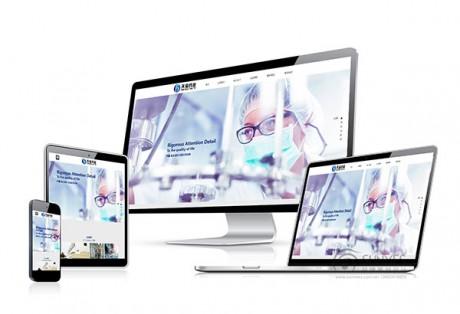 天宝约业自适应html5网站设计