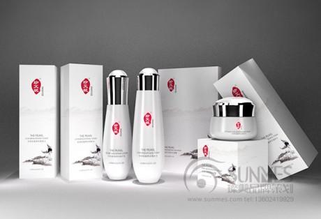 珍艾妮中国风化妆品品牌策划设计